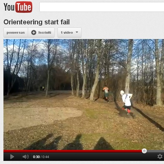 Orienteering divertente: video