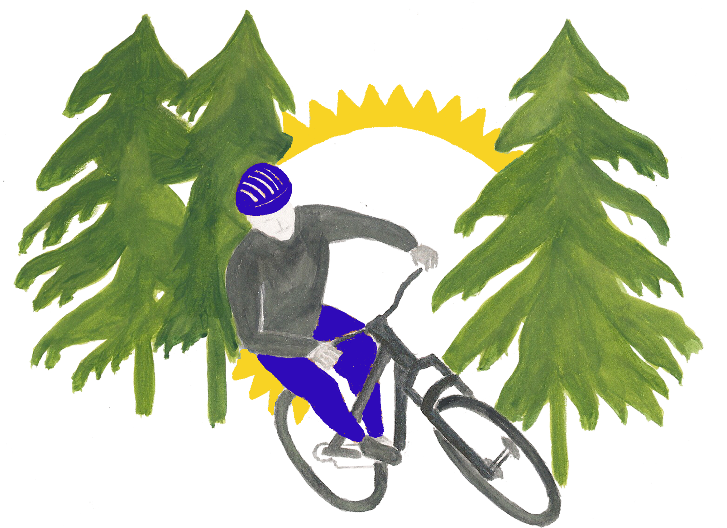 CLIPART: mountain bike