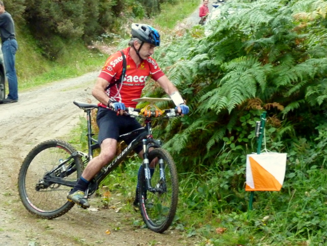 Mountain bike orienteering